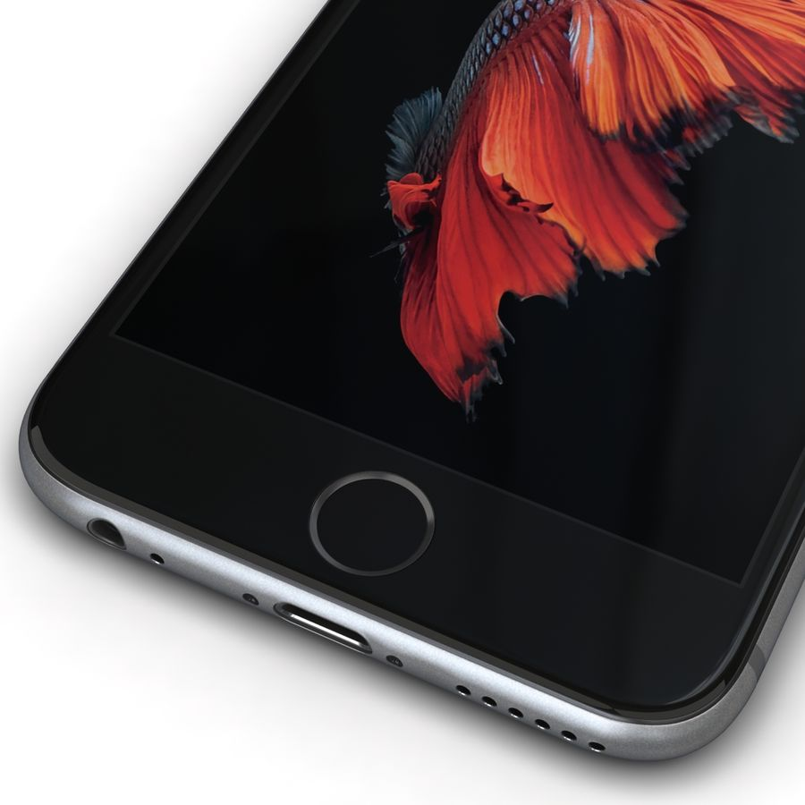 Apple iPhone 6s 모든 색상 royalty-free 3d model - Preview no. 6