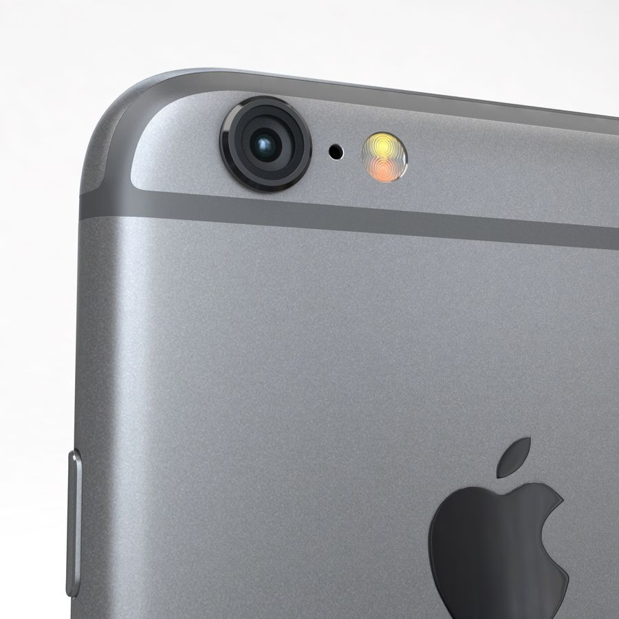 Apple iPhone 6s 모든 색상 royalty-free 3d model - Preview no. 15