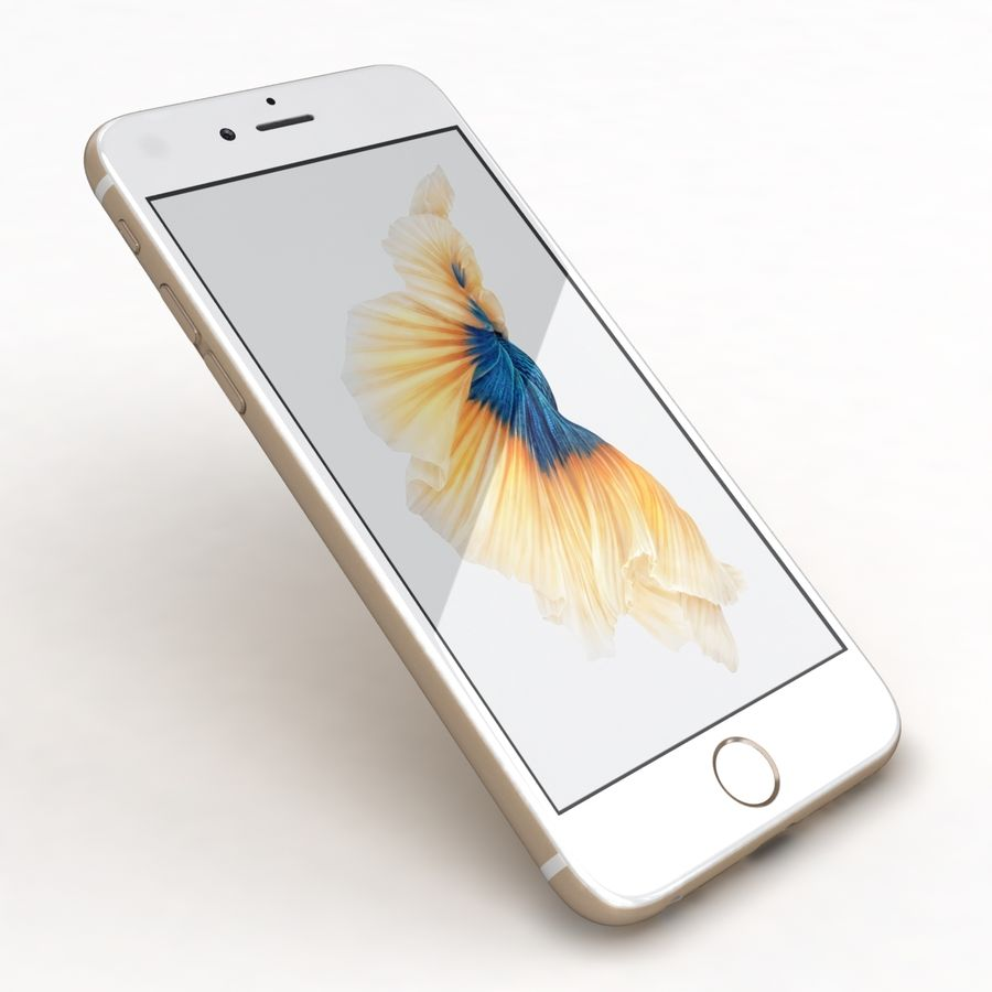 Apple iPhone 6s 모든 색상 royalty-free 3d model - Preview no. 55