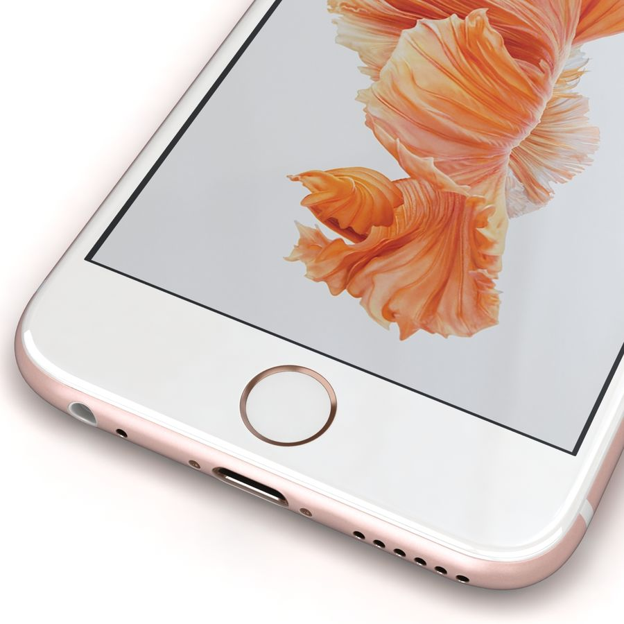 Apple iPhone 6s 모든 색상 royalty-free 3d model - Preview no. 64