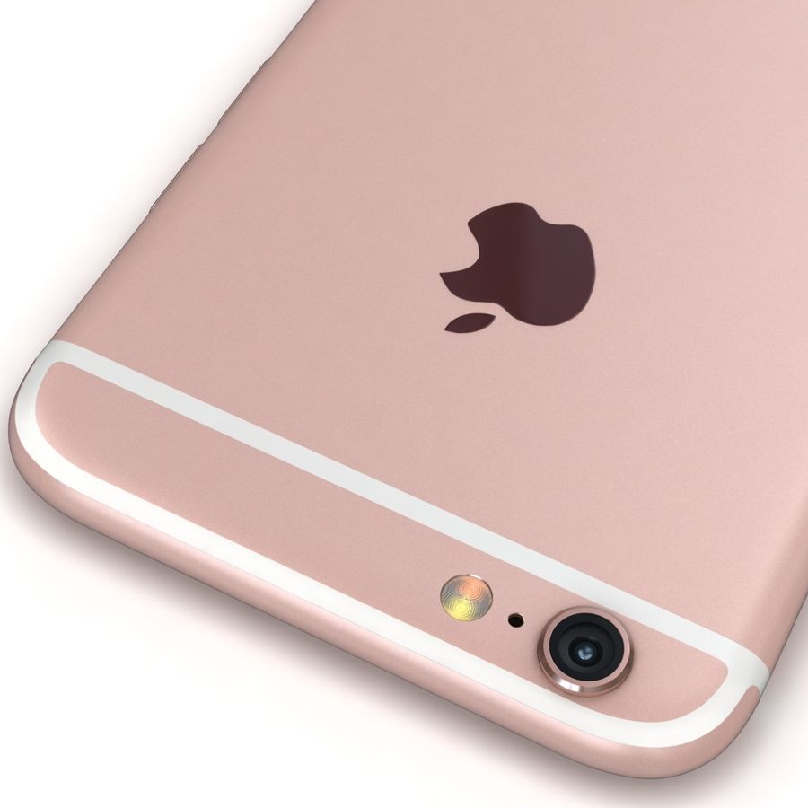 Apple iPhone 6s 모든 색상 royalty-free 3d model - Preview no. 68