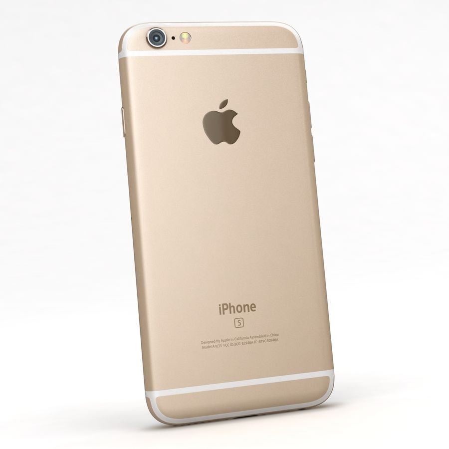 Apple iPhone 6s 모든 색상 royalty-free 3d model - Preview no. 43