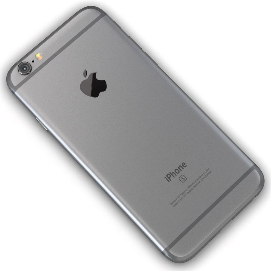Apple iPhone 6s 모든 색상 royalty-free 3d model - Preview no. 8
