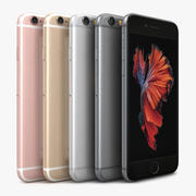 Apple iPhone 6s 모든 색상 3d model