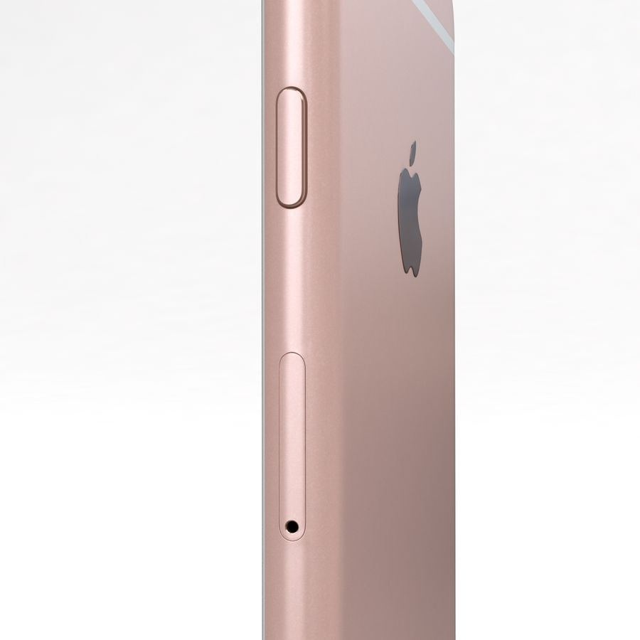 Apple iPhone 6s 모든 색상 royalty-free 3d model - Preview no. 72