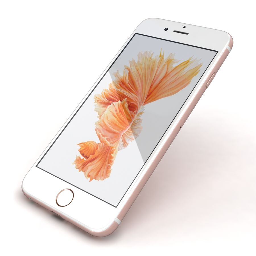 Apple iPhone 6s 모든 색상 royalty-free 3d model - Preview no. 76