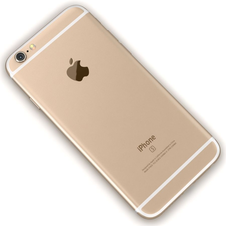 Apple iPhone 6s 모든 색상 royalty-free 3d model - Preview no. 47