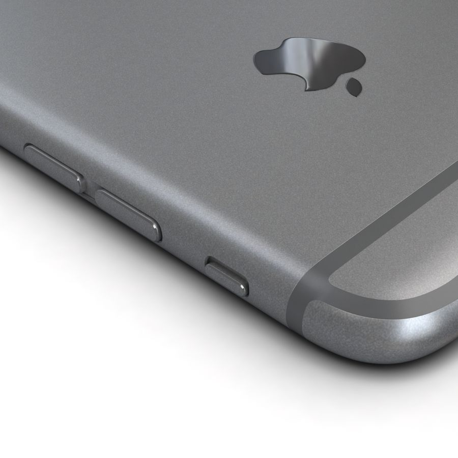 Apple iPhone 6s 모든 색상 royalty-free 3d model - Preview no. 11
