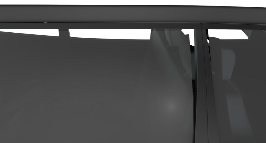 Merc Limo royalty-free 3d model - Preview no. 11