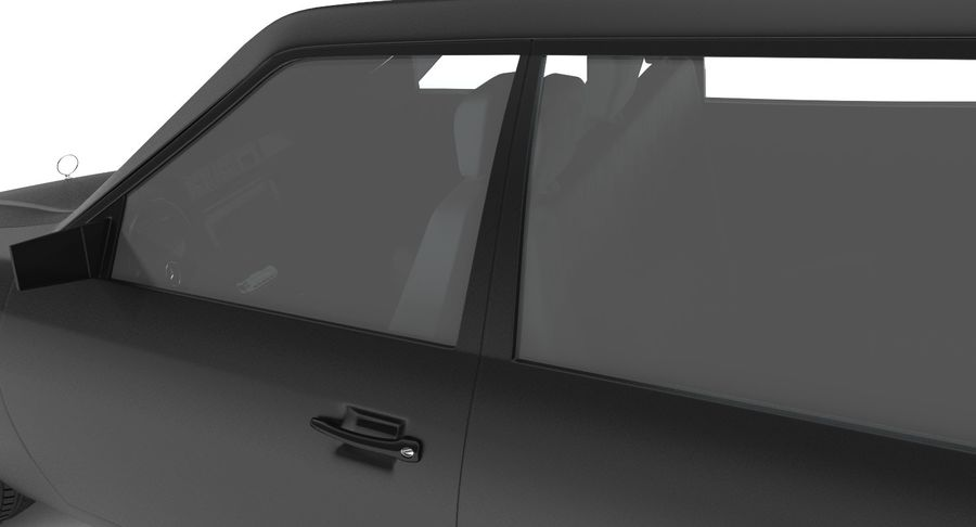 Merc Limo royalty-free 3d model - Preview no. 10