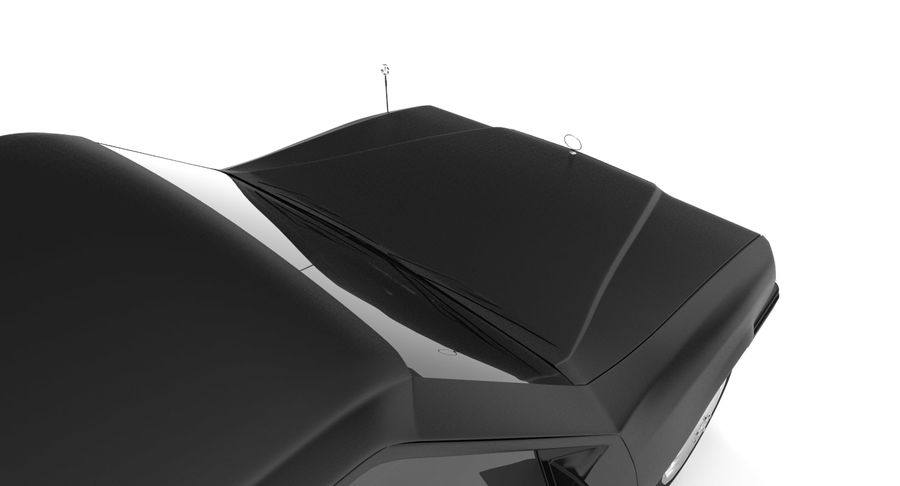 Merc Limo royalty-free 3d model - Preview no. 16