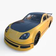 Generic Race Car 3d model