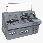 군용 보트 제어판 3d model