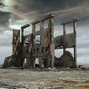 Förstört förstört byggnad 3d model