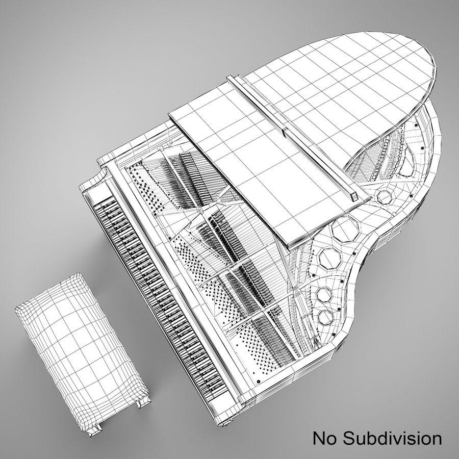 Flygel royalty-free 3d model - Preview no. 20