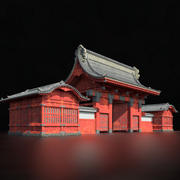 Università di Tokyo 3d model