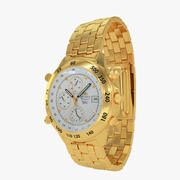 Orient Gold Watch - Chronograph 3d model