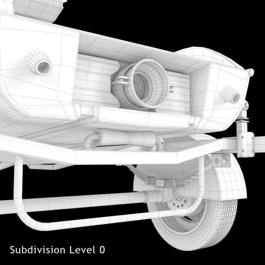 Jet Ski royalty-free 3d model - Preview no. 16