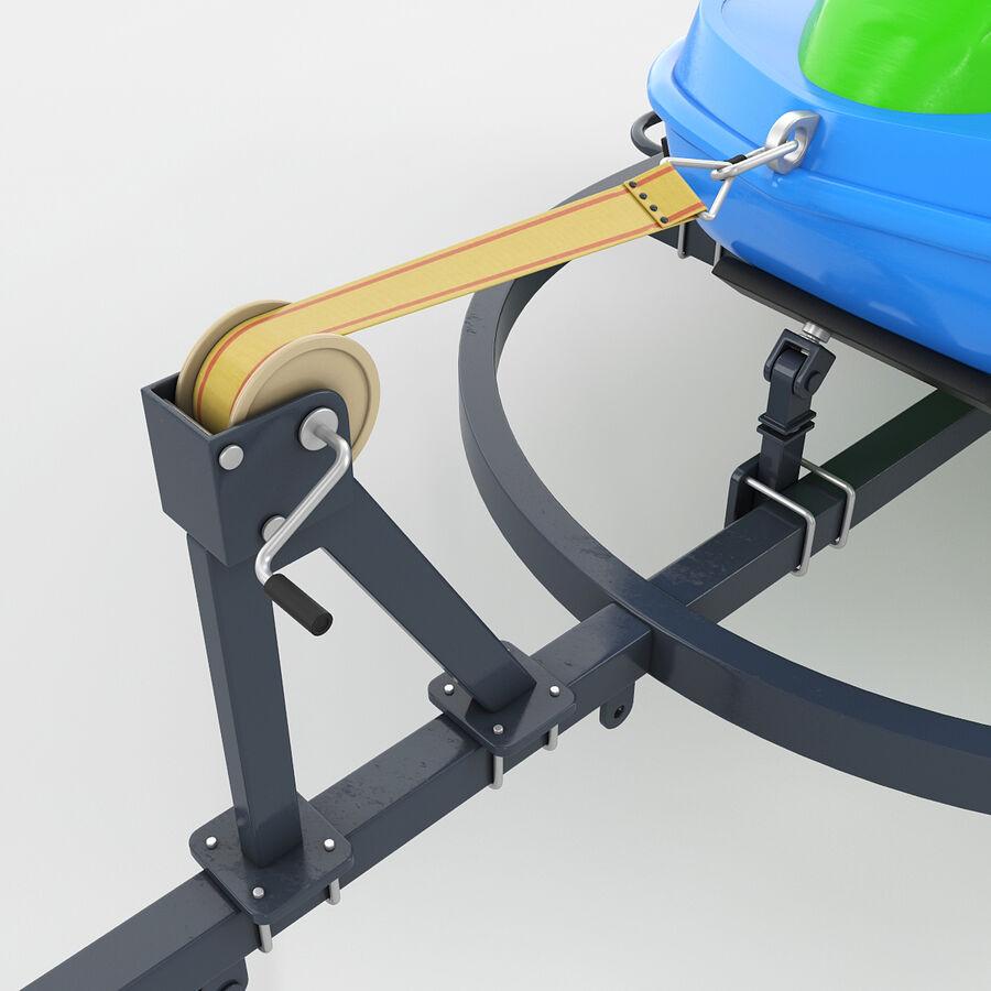 Jet Ski royalty-free 3d model - Preview no. 5