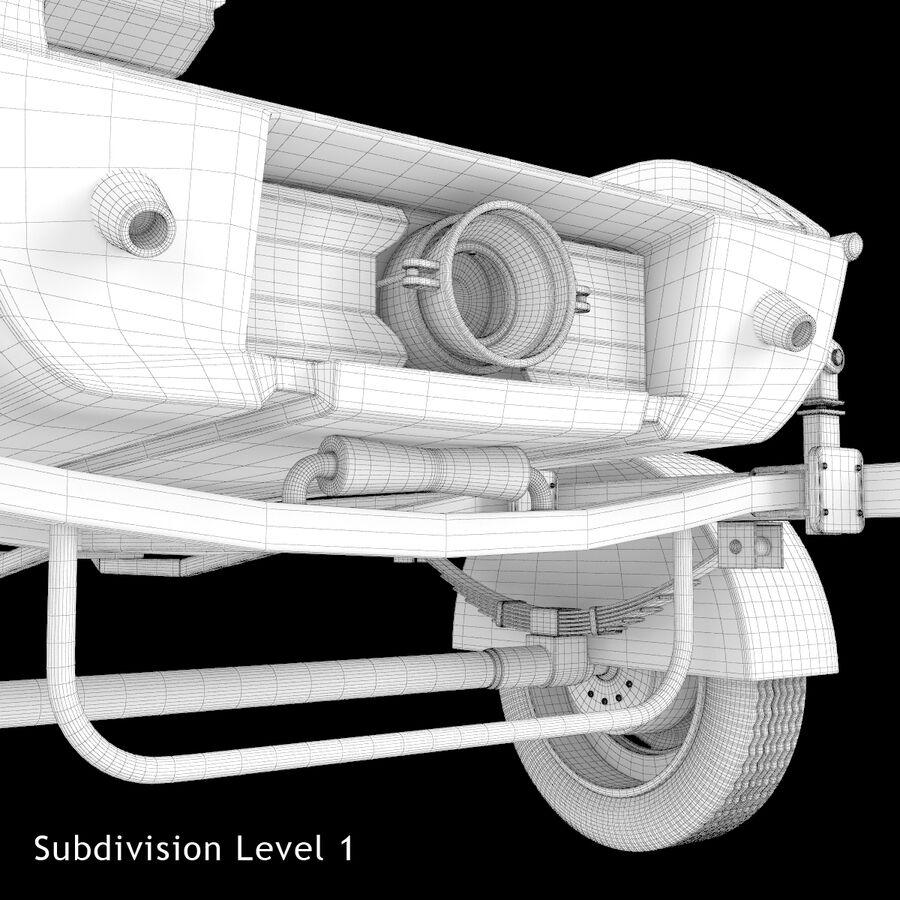 Jet Ski royalty-free 3d model - Preview no. 17