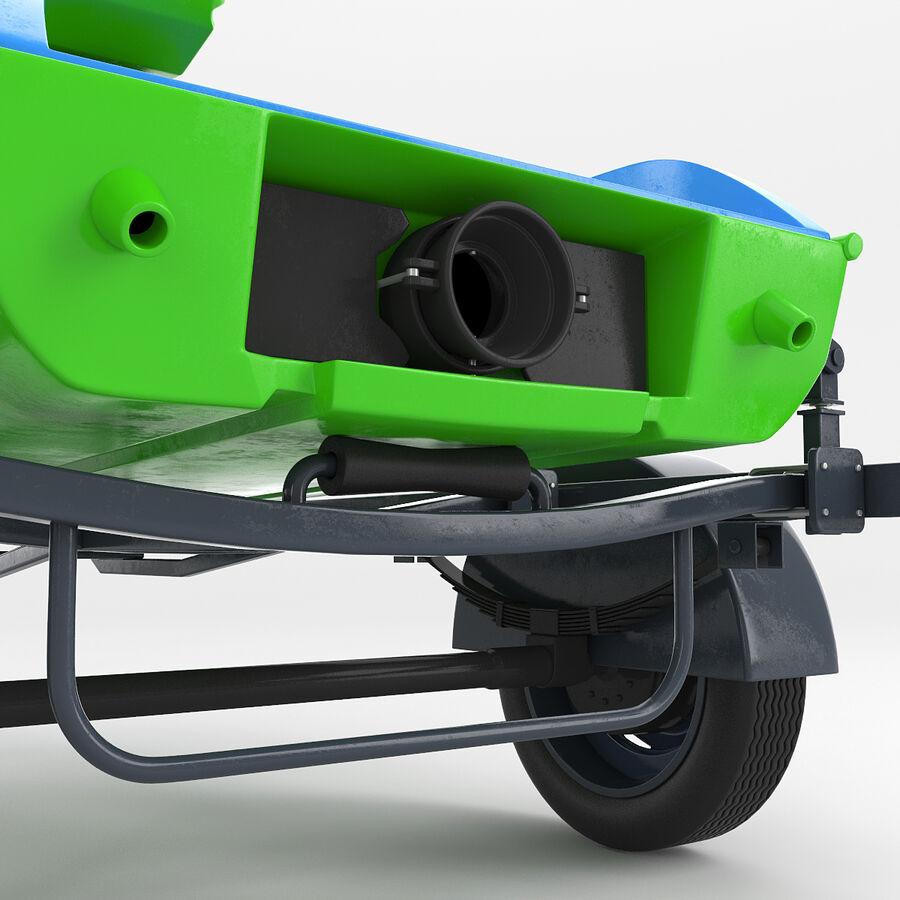 Jet Ski royalty-free 3d model - Preview no. 6