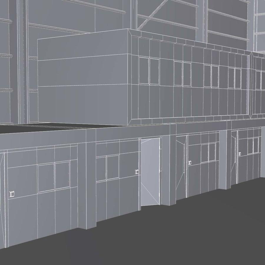 飞机机库 royalty-free 3d model - Preview no. 15
