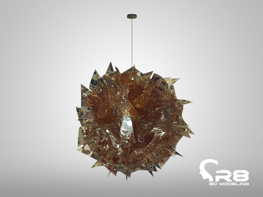 Lamp 3 royalty-free 3d model - Preview no. 1