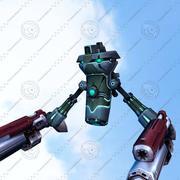 mosca-robô 3d model