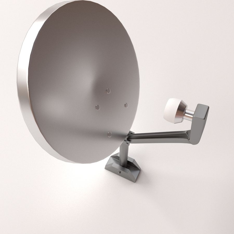 Antena satelitarna royalty-free 3d model - Preview no. 2