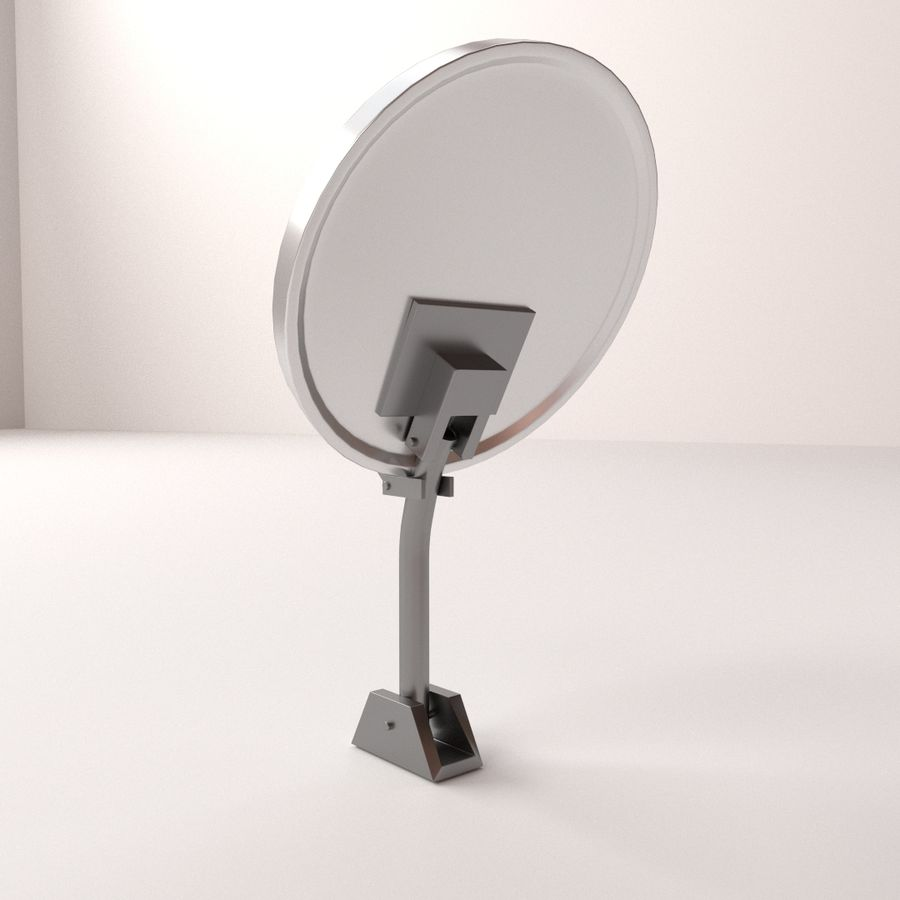 Antena satelitarna royalty-free 3d model - Preview no. 3