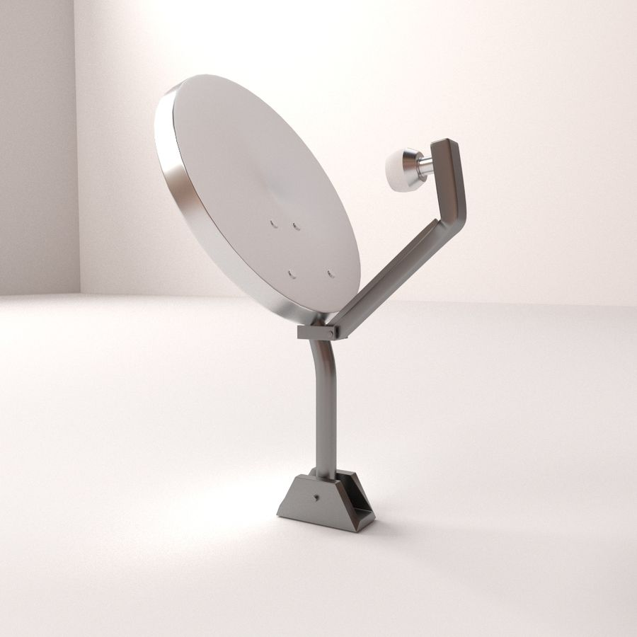 Antena satelitarna royalty-free 3d model - Preview no. 1