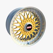 Wheel BBS RS 3d model