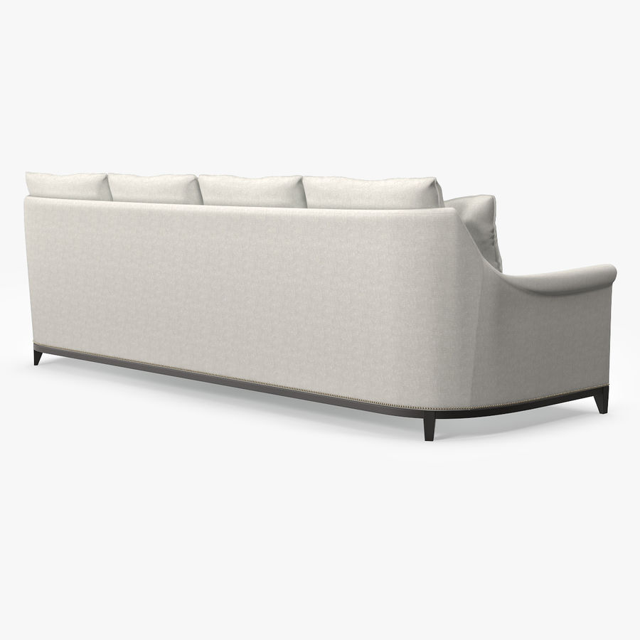 Hickory Möbel Jules Sofa royalty-free 3d model - Preview no. 5