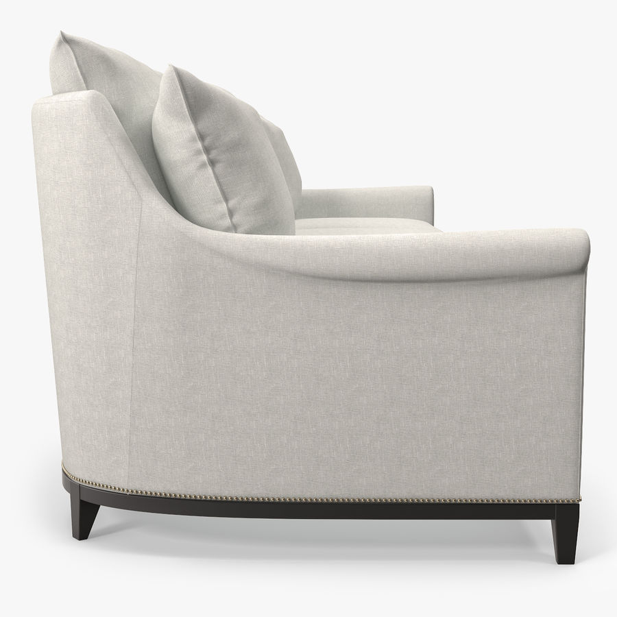Hickory Möbel Jules Sofa royalty-free 3d model - Preview no. 4