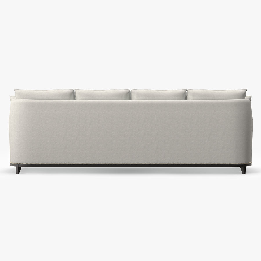 Hickory Möbel Jules Sofa royalty-free 3d model - Preview no. 6