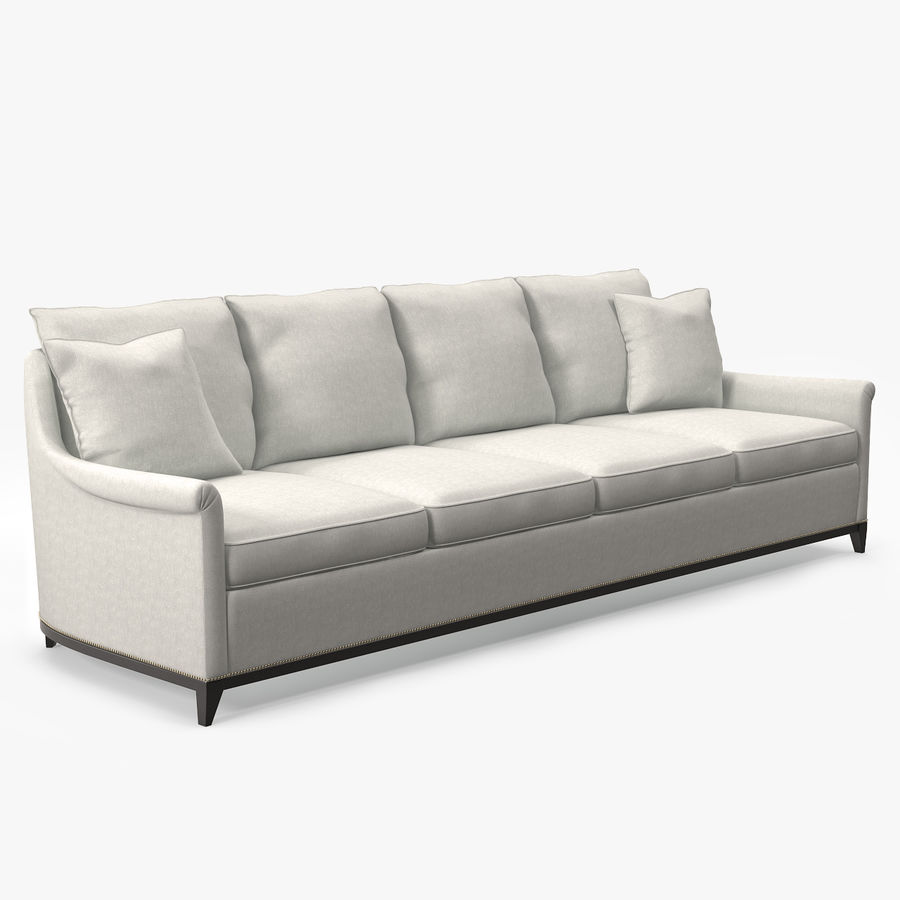 Hickory Möbel Jules Sofa royalty-free 3d model - Preview no. 2