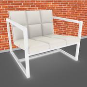 Chaise de canapé 3d model