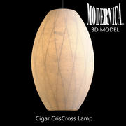 MODERNICA Cigar CrisCross Lamp 3d model