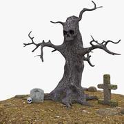Зло Дерево 3d model