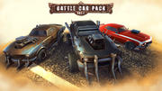 Battle Car Pack Vol.1 3d model