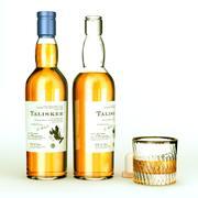 Talisker whiskey bottle 3d model