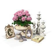 decorative set (3) 3d model