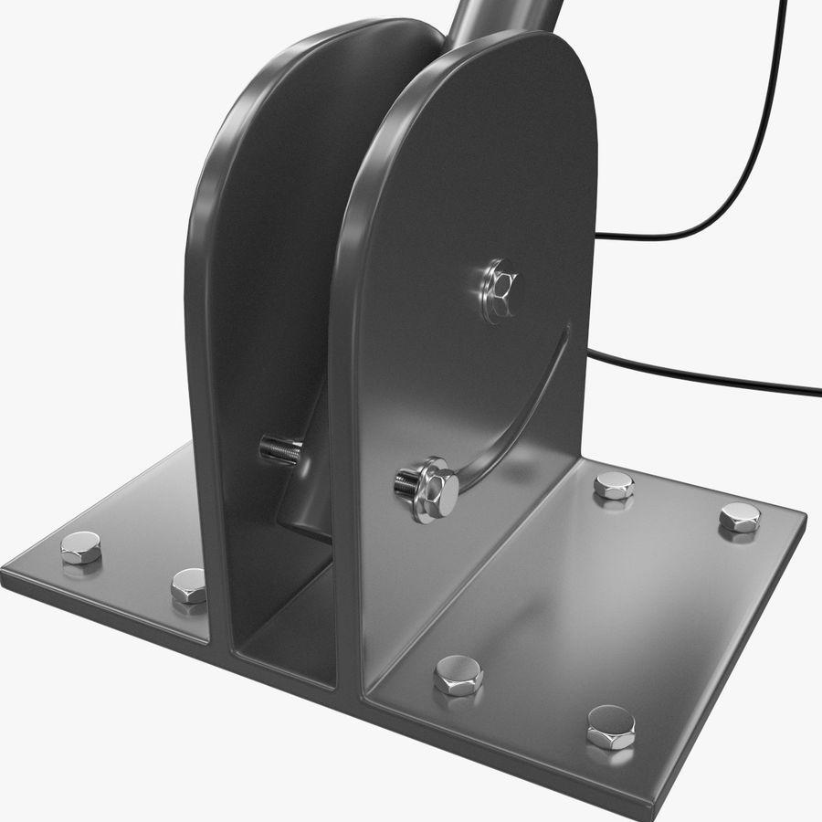 Satellite Dish royalty-free 3d model - Preview no. 10