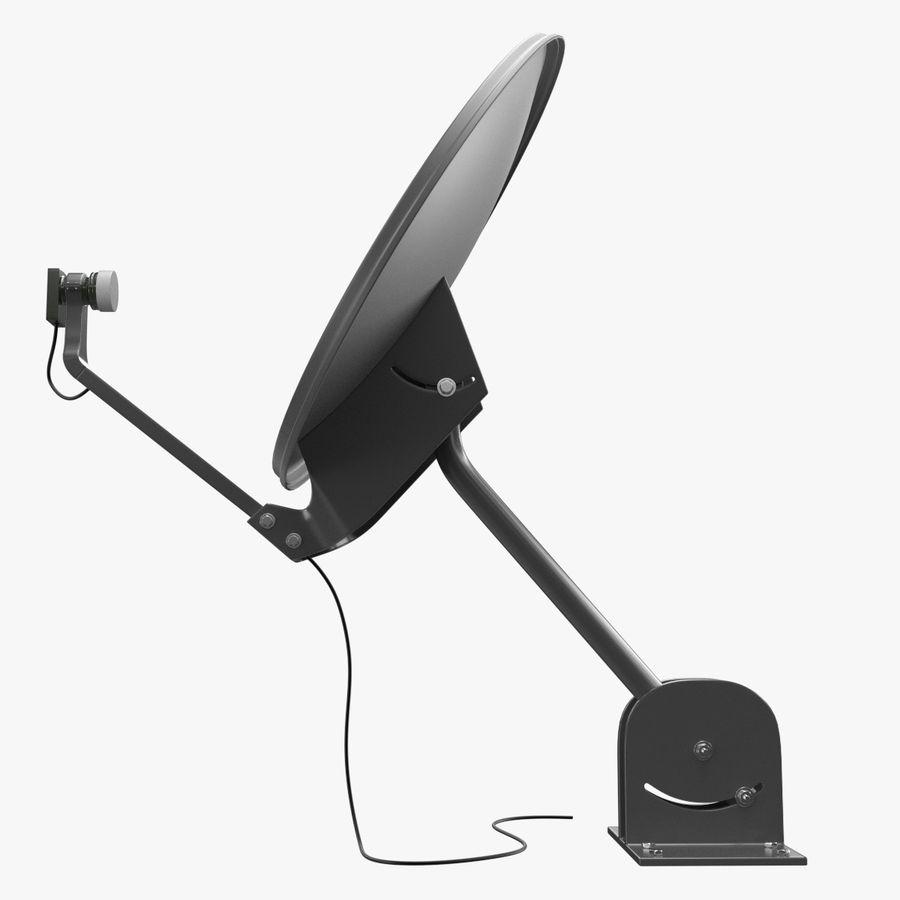 Satellite Dish royalty-free 3d model - Preview no. 4