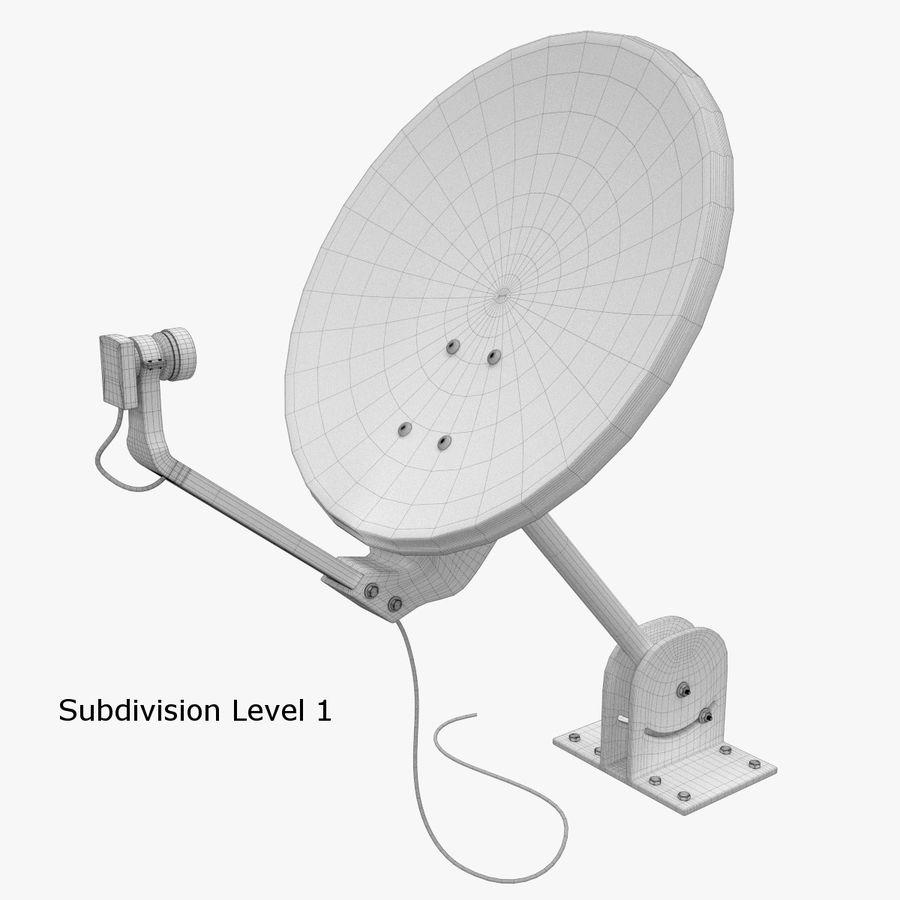 Satellite Dish royalty-free 3d model - Preview no. 12