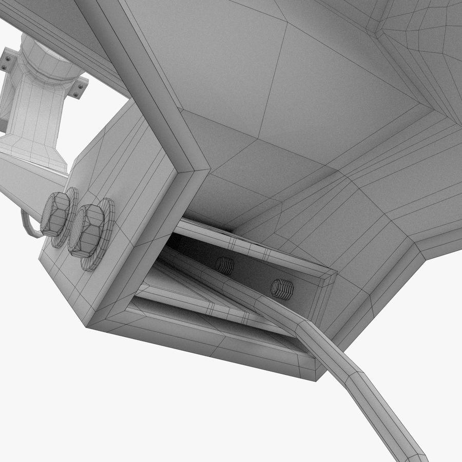 Satellite Dish royalty-free 3d model - Preview no. 15