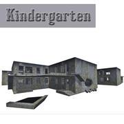 Deserted Soviet Kindergarten 3d model
