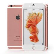 Apple Iphone 6S Розовое золото 3d model