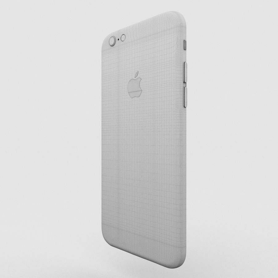 Iphone 6S Gold royalty-free modelo 3d - Preview no. 20