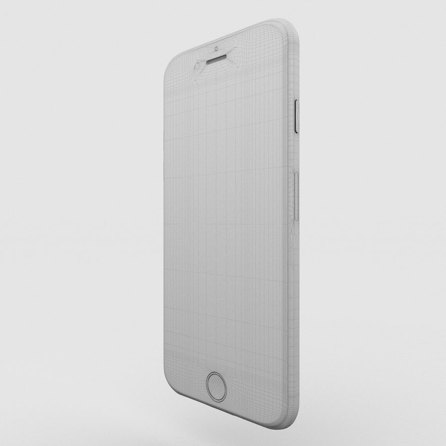Iphone 6S Gold royalty-free modelo 3d - Preview no. 16